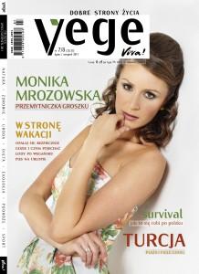 Okładka magazynu Vege, 7-8.2011