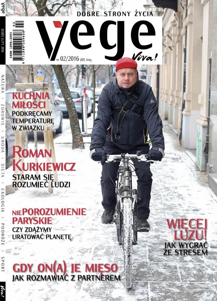 okładka Vege 02/2016