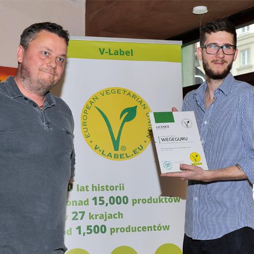 V-Label dla wegeguru